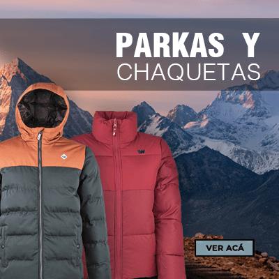 PARKAS Y CHAQUETAS